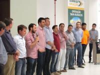 """Parlamentares prestigiam o lançamento do """"Arranca Safra"""" em Sorriso"""