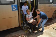 Transporte público: Câmara de Sorriso quer passe livre para pessoas com deficiência e acompanhantes