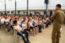 Câmara Municipal e 10ª Companhia de Bombeiros lançam campanha 'Trote não é brinquedo'