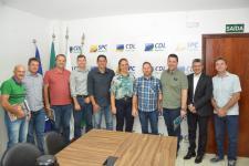 CDL Sorriso apresenta projeto Frente Parlamentar para vereadores e empresários