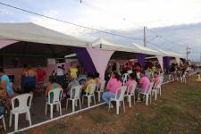 Mulheres do Bairro São Francisco recebem atividades alusivas ao Dia Internacional da Mulher