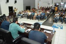 Audiência pública discute regulamentação das atividades dos vendedores ambulantes de Sorriso