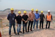 Vereadores visitam canteiro de obras da Usina Hidrelétrica em Sinop