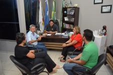 Sorriso: Mesa Diretora recebe a visita do ex-prefeito Ignácio Schevinski Netto