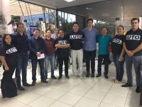 Vereadores estão em Cuiabá para participarem de reunião com governador sobre o funcionamento do Hospital Regional de Sorriso
