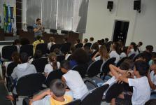 Por dentro do Parlamento: Alunos da escola Bela vista visitam a Câmara
