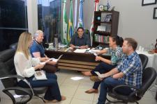 Vereadores recebem visita de coordenadoras da Pastoral da Pessoa Idosa