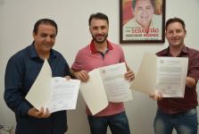 Vereadores protocolam requerimentos solicitando recursos para o esporte e a saúde de Sorriso