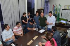 Sorriso: Em visita a presidência da câmara, empresário anuncia construção de Atacarejo no município